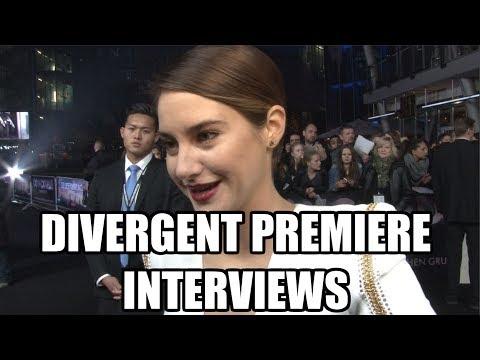 Divergent & Insurgent Interviews - Shailene Woodley, Theo James, Neil Burger Mp3