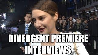 Divergent & Insurgent Interviews - Shailene Woodley, Theo James, Neil Burger