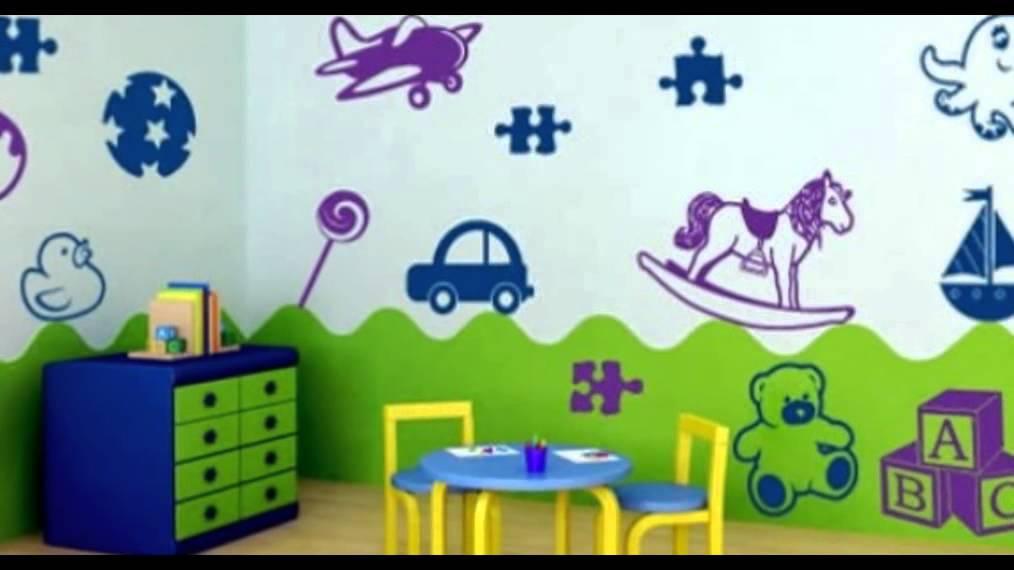 wandtattoos für babyzimmer - youtube - Wandtattoos Fur Babyzimmer Ideen Schliche Wand