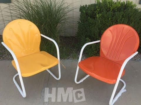 Powder Coating Outdoor Furniture