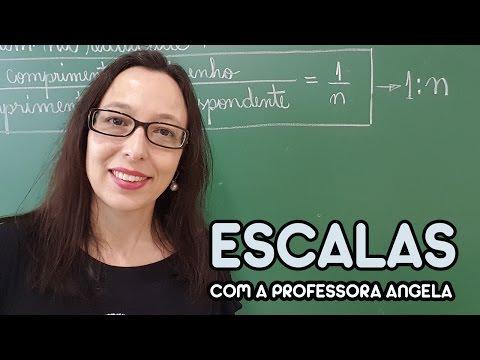 Escalas - Vivendo a Matemática - Professora Angela