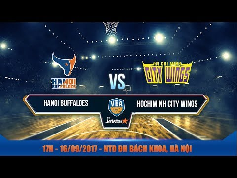 #Livestream || Game 8: Hanoi Buffaloes vs Hochiminh City Wings 16/09 | VBA 2017 by Jetstar