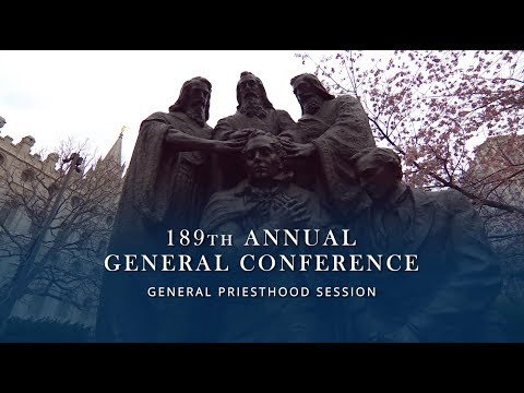 April 2019 General Conference - General Priesthood Session