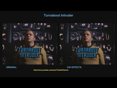 Star Trek - Turnabout Intruder - visual effect comparison