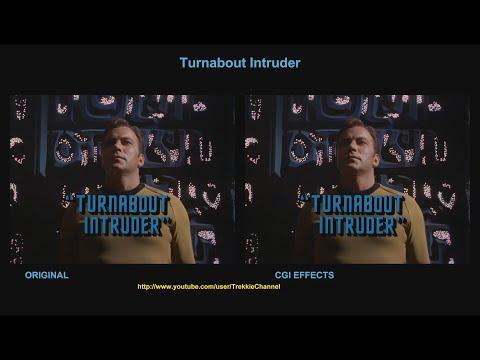 Star Trek - Turnabout Intruder - visual effect comparison