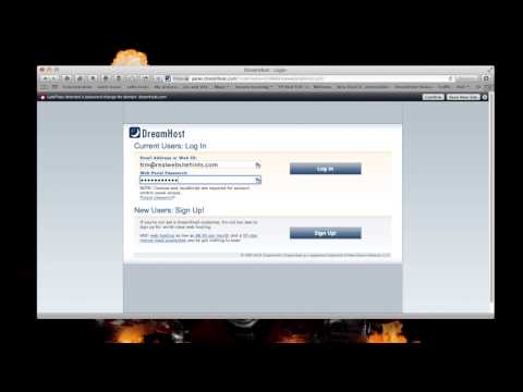 Create a DreamHost Account and Tips for One Click Wordpress Install