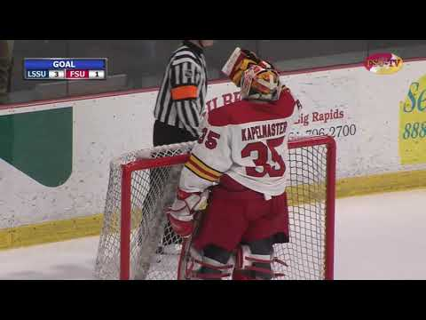 FSU Hockey Vs LSSU Highlights 02-01-19
