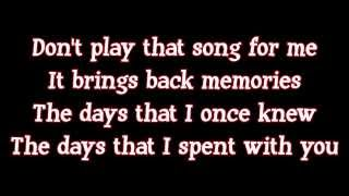 Ben E. King - Don't Play That Song (lyrics)
