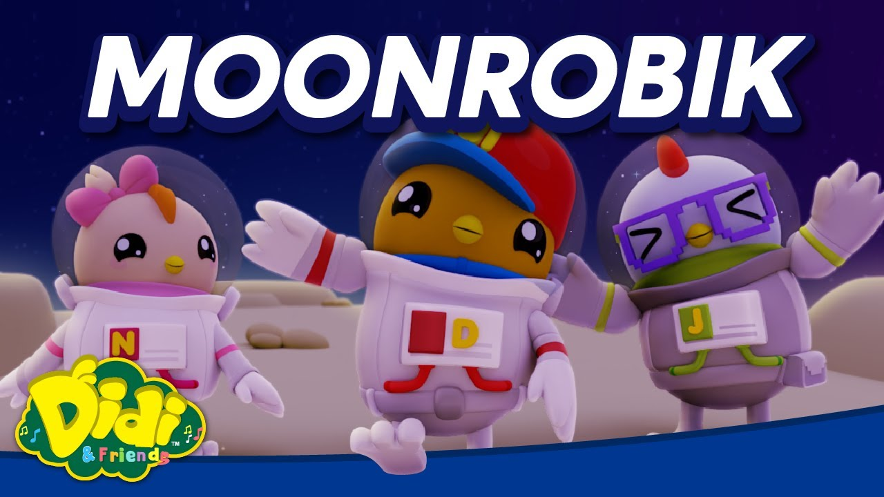 Moonrobik | Didi & Friends Lagu Kanak-Kanak | Didi Lagu Baru