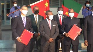 GLOBALink | Cameroon receives first batch of COVID-19 vaccines from China