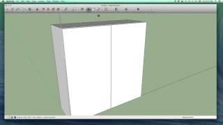 A Quick Cabinet In Sketchup