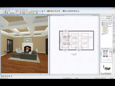 Chief Architect Ceiling Demonstration
