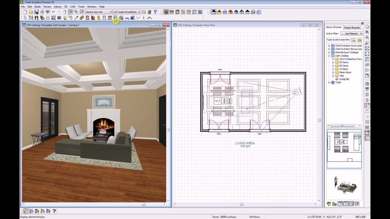 How To Create A Vaulted Ceiling In Chief Architect