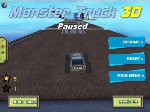 Girlsgames monster truck 3d games y8.com - YouTube