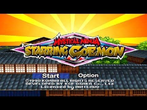 N64 Mystical Ninja Starring Goemon The King Robot Congo