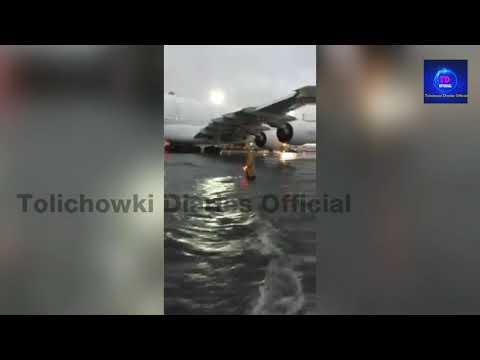 Shamshabad Airport Hyderabad Heavy rain in Airport 2 October 2017