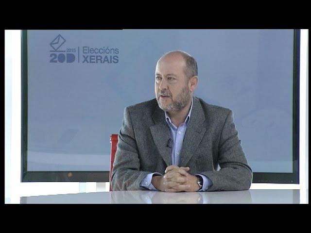 """Ricardo Varela: """"O dereito á educación, sanidade e servizos sociais debe estar blindado na Constitución"""""""