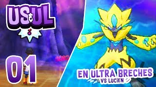 🔴 {SHINY-CONQUEST 🌟} PREMIERS FRISSONS VS LUCIEN シ ! POKEMON ULTRA LUNE RANDOMIZER - 01 l
