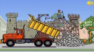 Diggers & truck เกมส์รถก่อสร้าง รถแม็คโคร รถตักดิน รถบรรทุก วีดีโอสำหรับเด็ก