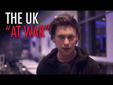 Caolan Robertson in Manchester: We are at war