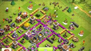Clash of Clans, level 76 fail at 38%