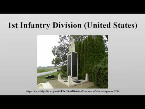 1st Infantry Division (United States)
