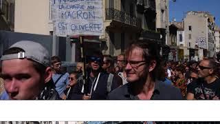 Manifestation contre la Loi Travail, le 12 septembre 2017 à Marseille
