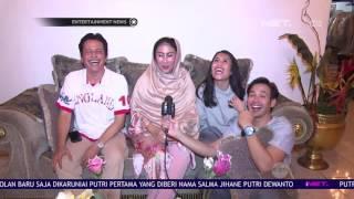 Senangnya Tarra Budiman dan Gya Sadiqah Merayakan Lebaran Pertama Sebagai Suami Istri