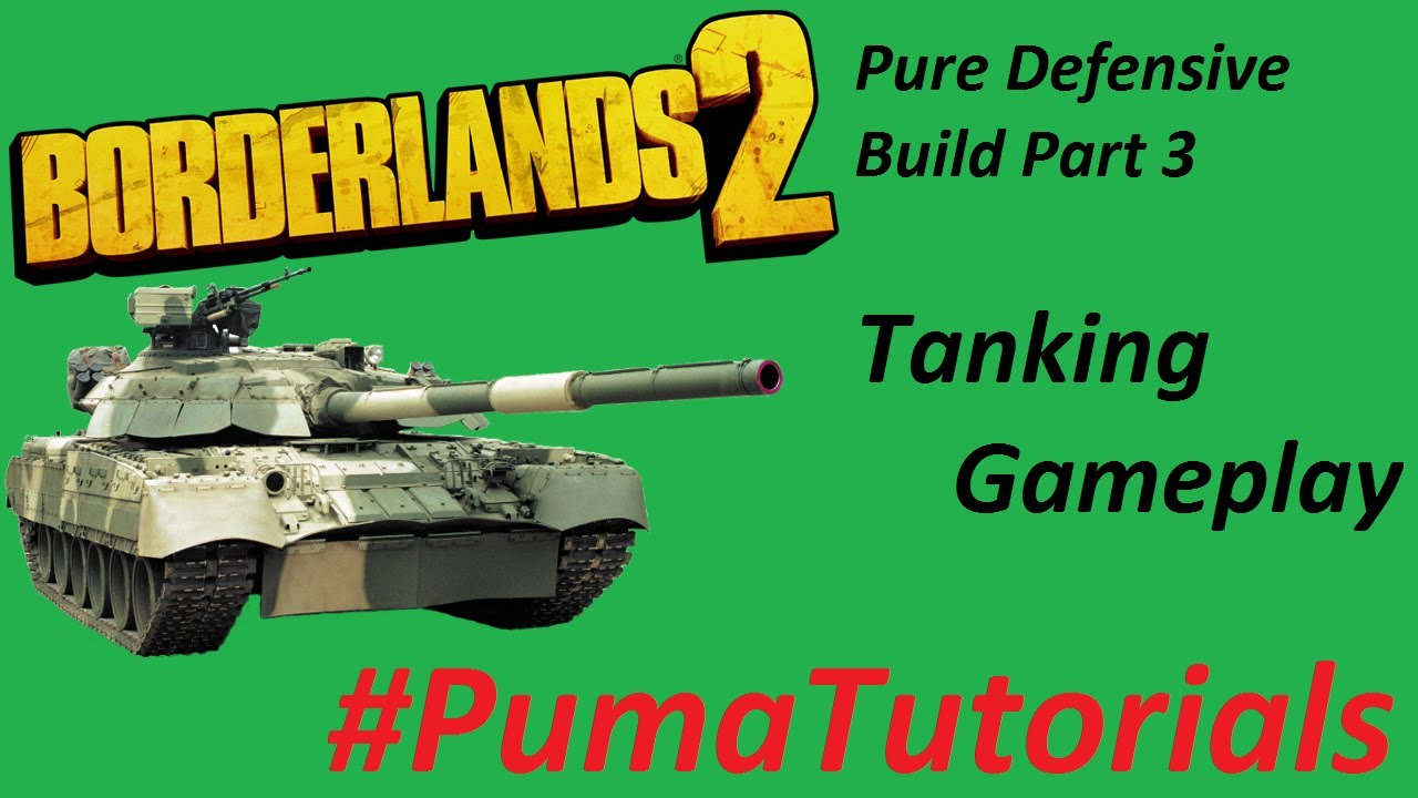 Pure Defensive Build Part 3 - Tanking Gameplay