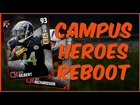 MUT 17 | Campus Heroes Program Reboot! New Trent Richardson, Colt McCoy + More!