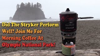 Camp Chef Stryker 100 Review - Best Budget Compact Cooking Stove - Olympic National Park Backpacking