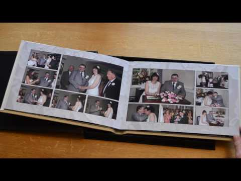 Leather Storybook Wedding Album