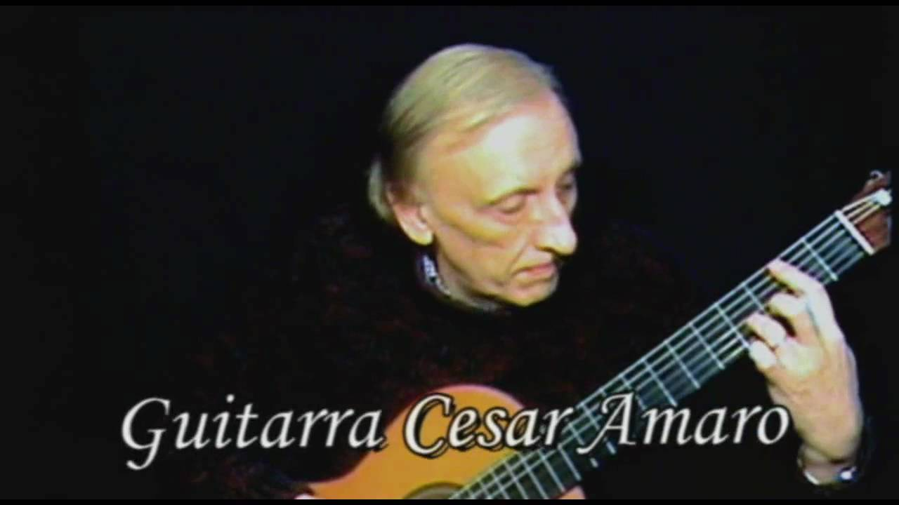 Francisco Tarrega - Lagrima by Cesar Amaro