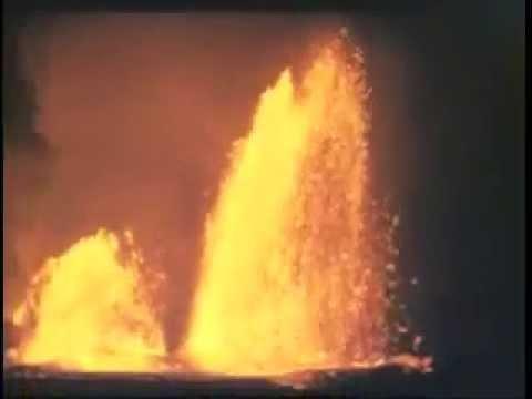 Early Hawaiian Volcano Footage