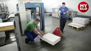 как работает типография: печатный станок