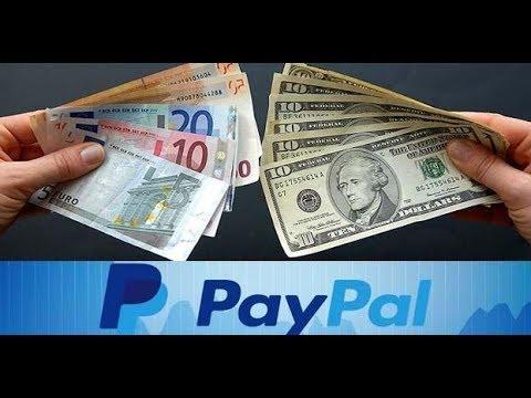 Como Cambiar Divisas En Paypal 2018 (Dolares, Euros, Libras Esterlinas)
