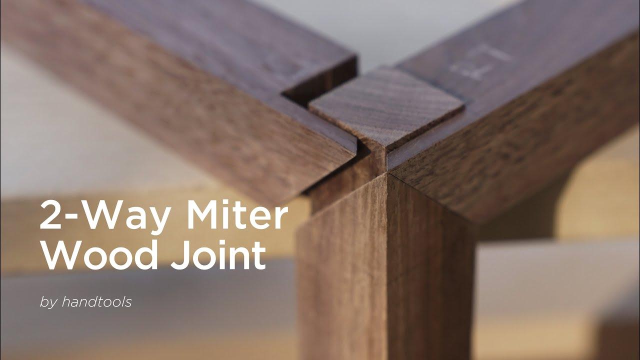 2-WAY Miter wood joint [이방연귀]