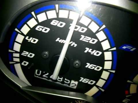 YAMAHA SPARK135 (T135,Exciter,Sniper,JupiterMX,CryptonX,135LC) Acceleration 0-100km/h