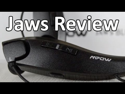 A Neckband Headset??? - Mpow Jaws Bluetooth Headset Review