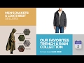 Our Favorites Trench & Rain Collection Men's Jackets & Coats Best Sellers
