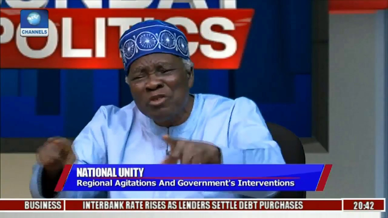 Nigeria's Political Structure And The Clamour For Restructuring Pt 3