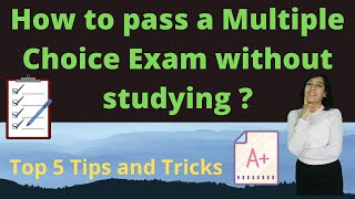 How to pass exam a Multiple Choice Questions (MCQ) Exam without studying | Free Tips and Tricks