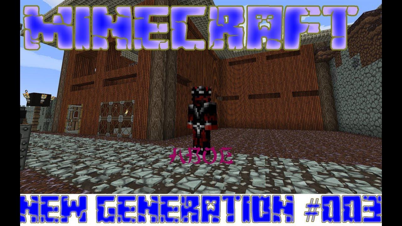 Download Minecraft New Generation #003 [Magneticraft Erzverdreifachung aufbauen]