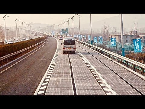 World's First Solar Highway Opens In China