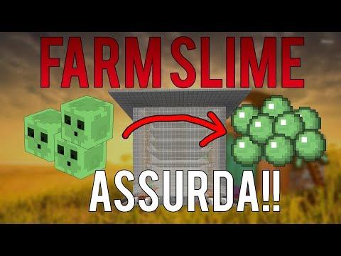 COME FARE LA FARM DI SLIME!! SUPER EFFICIENTE - TUTORIAL MINECRAFT 1.12+ ITA
