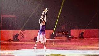 Kamila Valieva Камила Валиева и Морис Квителашвили 14 04 2021 Шоу Чемпионы на льду Санкт Петербург