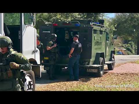 Breaking News: Barricaded suspect in Summerfield