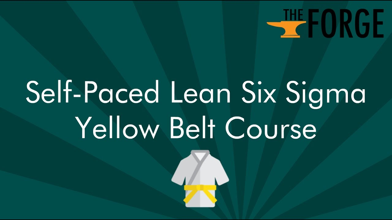 Online lean six sigma yellow belt certification youtube online lean six sigma yellow belt certification xflitez Images