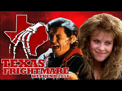 TEXAS FRIGHTMARE WEEKEND 2016 Featuring RICKY DEAN LOGAN & BROOKE THEISS