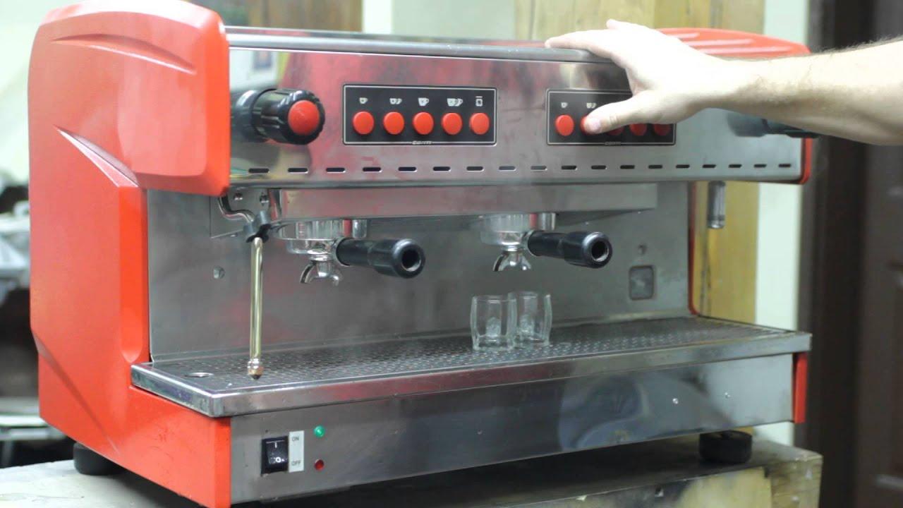 Conti 2 Group Espresso Machine Youtube